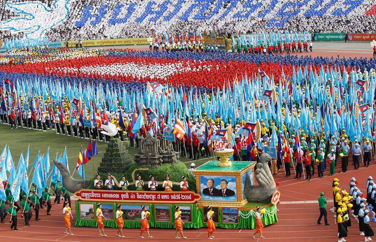 Tijdens Victory Day, op 7 januari, viert Cambodja de overwinning op het Rode Khmer-regime in 1979.