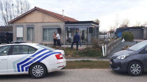 De politie maakte een proces-verbaal op wegens aanzetten tot samenscholing.