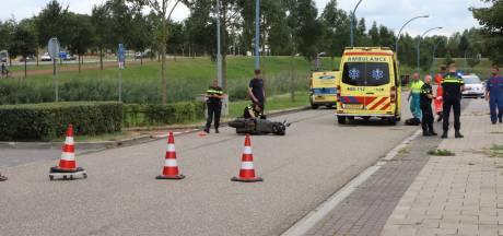 Scooterrijder raakt gewond in Tiel