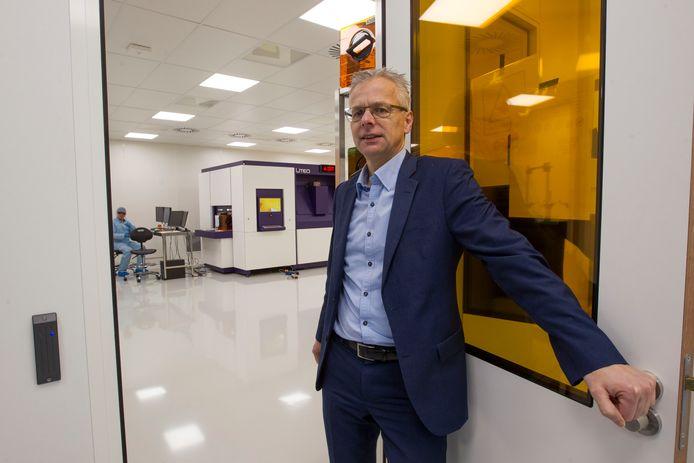 Gerrit van der Beek, hier nog bij zijn vorige werkgever Liteq.