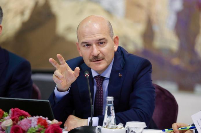 Le ministre turc de l'Intérieur Süleyman Soylu.