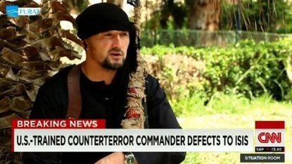 IS-strijder pronkt met training die hij kreeg in de VS