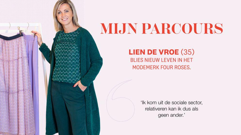 """Het hobbelige parcours van ontwerpster Lien De Vroe: """"Ik kom uit de sociale sector, relativeren kan ik dus als geen ander"""""""