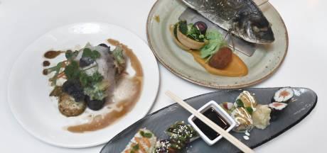 Knetterverse vis en verrukkelijke sushi bij De Visbar in Domburg