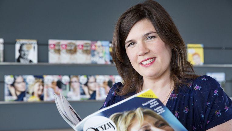 Irene de Bel, hoofdredactrice van maandblad Opzij. Beeld anp