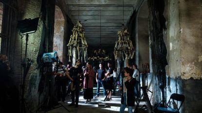 Filmopnames in Sint-Bernardusabdij
