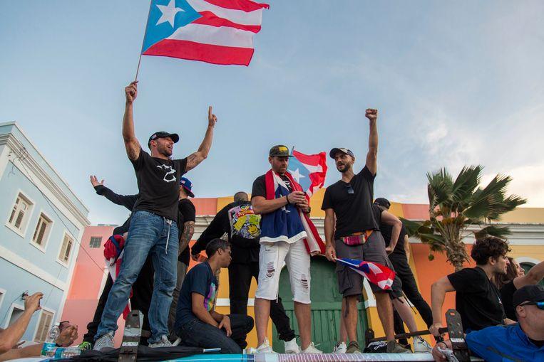 Zanger Ricky Martin stond mee op de barricades.