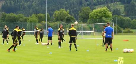 Trainingskamp Vitesse: Alles met de bal