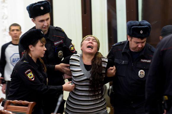 Shokhista Karimova.