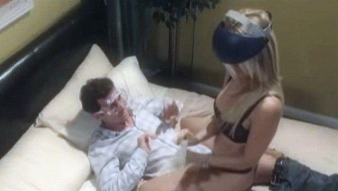 Pornosterren Jessica Drake en James Dean maakten in 2012 al een satirisch filmpje over nieuwe regels voor de porno-industrie.