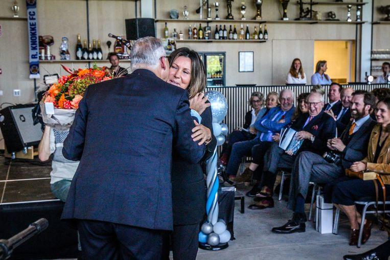 Knokke viering 40 jaar burgemeester Leopold Lippens