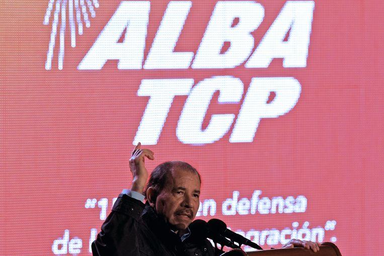 De omstreden Nicaraguaanse president Daniel Ortega.