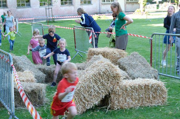De kleinsten konden zich uitleven tijdens de Kidsrun.