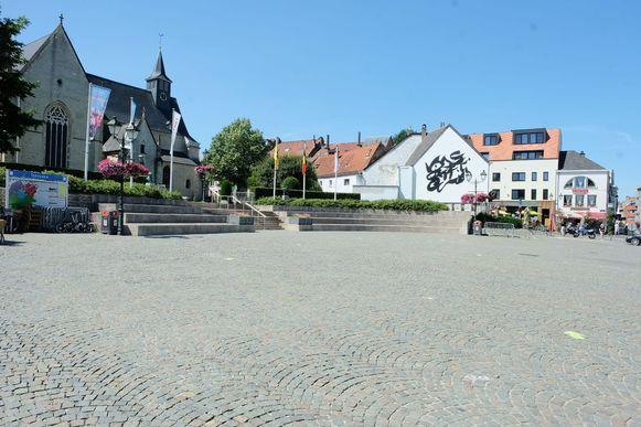 Ook de markt in Tervuren zal in de toekomst vernieuwd worden en maakt deel uit van het mobiliteitsplan.
