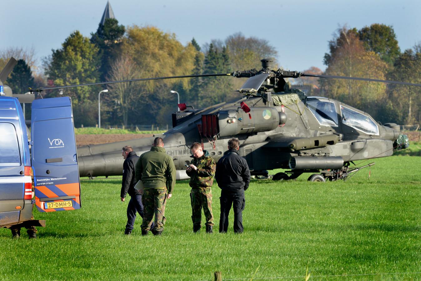 De oefening van Defensie dinsdag gaat door, maar niet boven het gebied van het ongeval.
