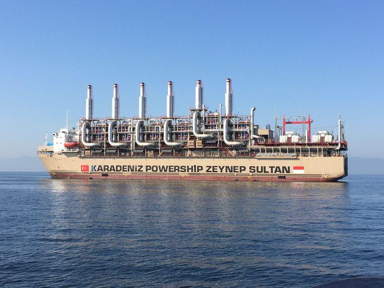 De Zeynep Sultan van Karadeniz, een van de mogelijkheden om in te zetten om het mogelijke stroomtekort op te vangen.