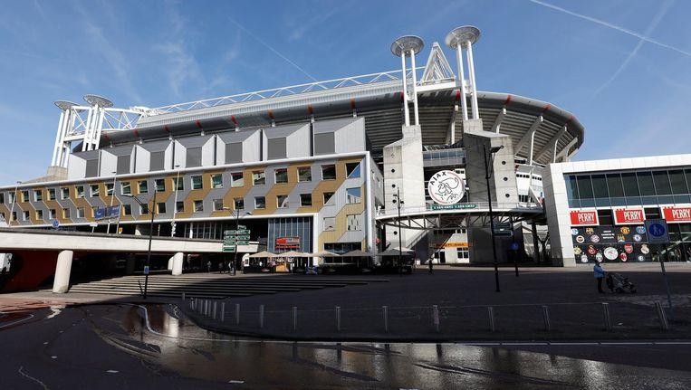 'De bierconsumptie zal groeien nu er Amsterdams bier uit de tap stroomt' Beeld anp