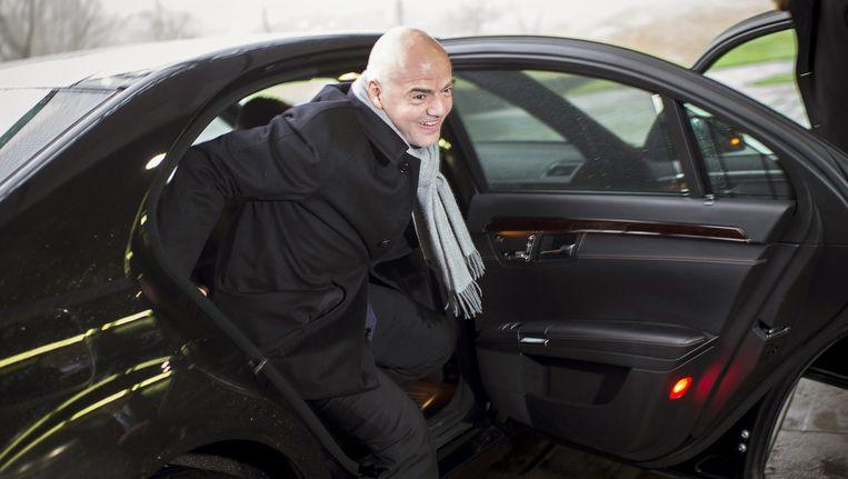 De nieuwe FIFA-voorzitter Infantino Beeld anp