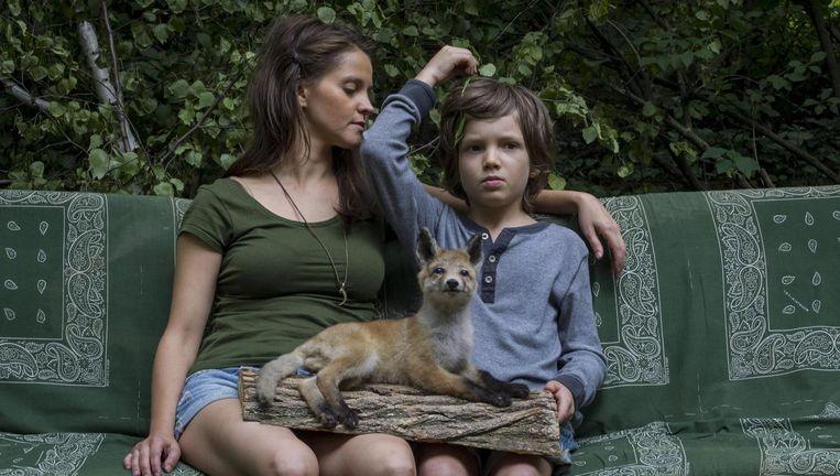 Moeder en zoon beleven in Lily Lane de klassieke vertellingen van onze cultuur. Beeld Lily Lane