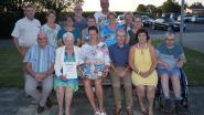 Egems Gemengd koor zet Ivonne (89) in de bloemetjes voor 55 jaar lidmaatschap