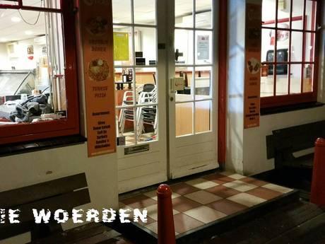 Vooral braakschade voor cafetaria Vikas in Harmelen
