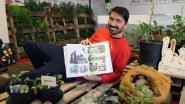 Bekroonde strip 'Yasmina en de Aardappeleters' komt tot leven in Warandestraat