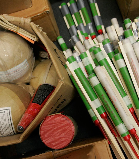 Politie legt beslag op 275 kilo vuurwerk in Hoofddorp