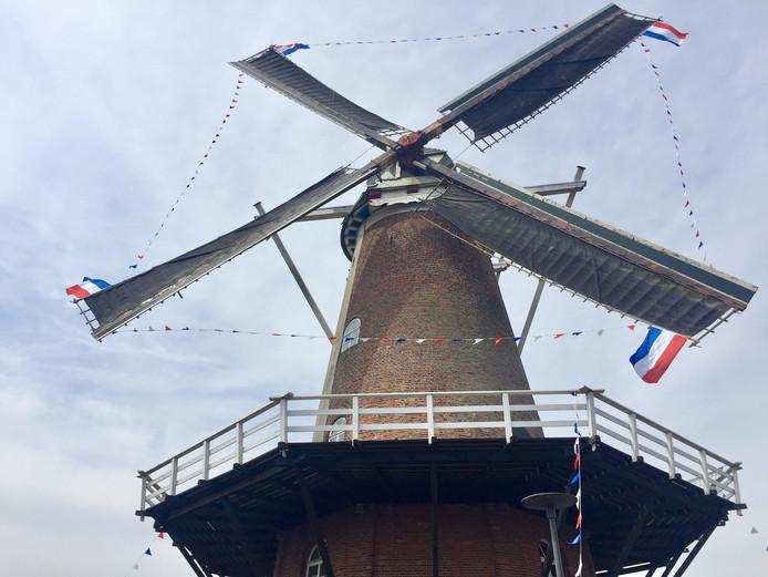 Molen Oude Hengel in Ootmarsum.