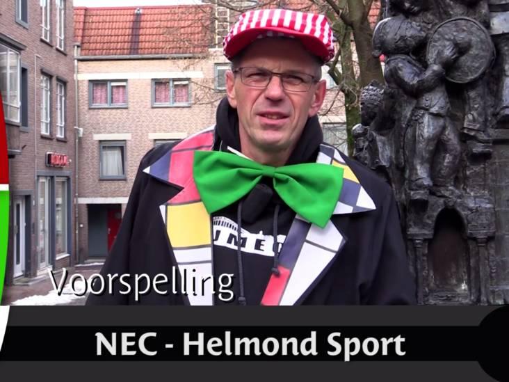 Henniessee: 'NEC gaat met 5-0 winnen, niet meer niet minder'