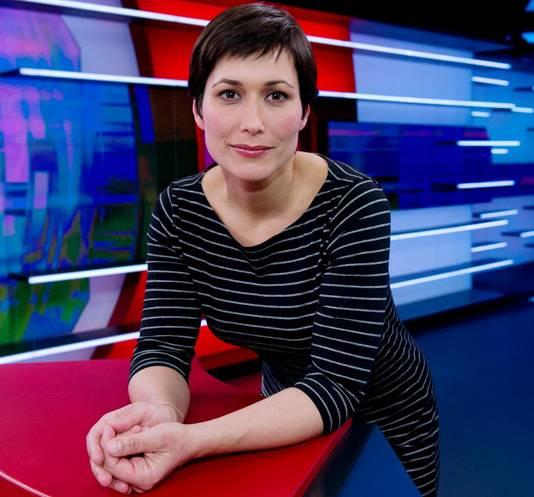 NOS-journaal-presentatrice Annechien Steenhuizen.