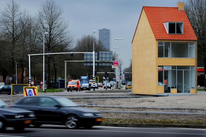 Het Draaiend Huis in Tilburg.