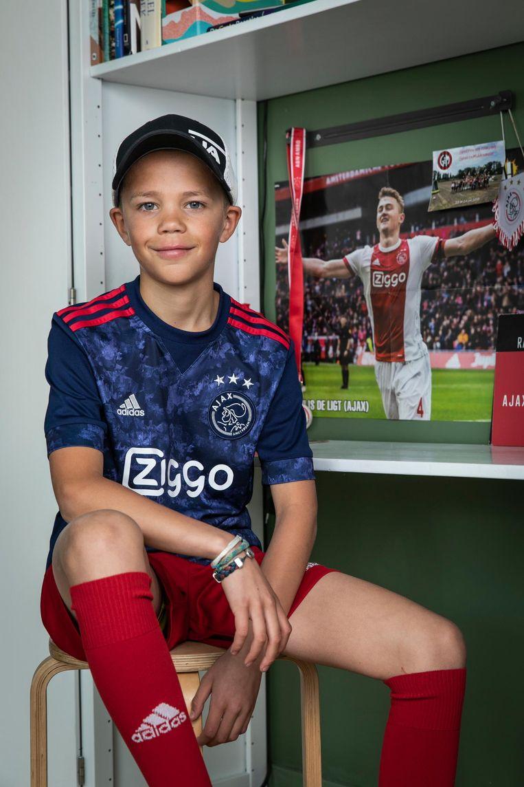 Tristan Koel (10) Beeld Dingena Mol