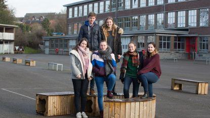 Debatgroepen over klimaat op de middelbare school VIIO Tongeren