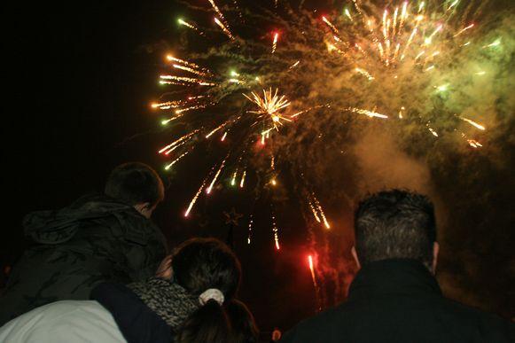 Er zal vuurwerk te zien zijn in Glabbeek.