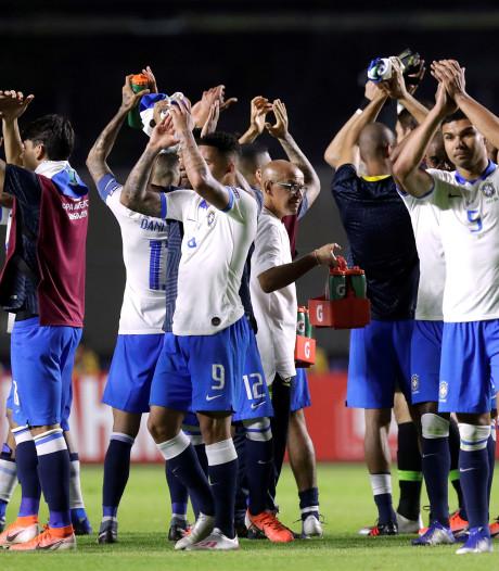 Brazilië kan fans nog niet bekoren: 'Jonge spelers gevoelig voor boegeroep'