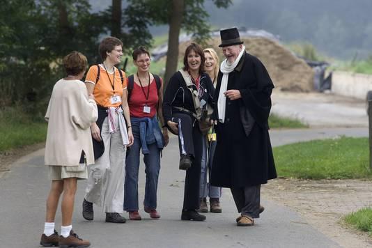 Sjef de Jong als Scrooge in Bronkhorst.
