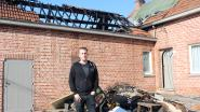 Dak van hoeve gaat in vlammen op in Wellen: ouders kunnen net op tijd zoon uit slaapkamer redden