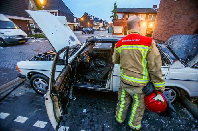 Brand op de Wolfstraat in Helmond