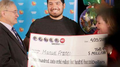 """Manuel (24) wint jackpot van 763 miljoen: """"Ik heb meteen mijn job opgezegd"""""""
