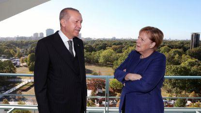Poetin, Macron, Merkel en Erdogan houden Syrië-top op 27 oktober