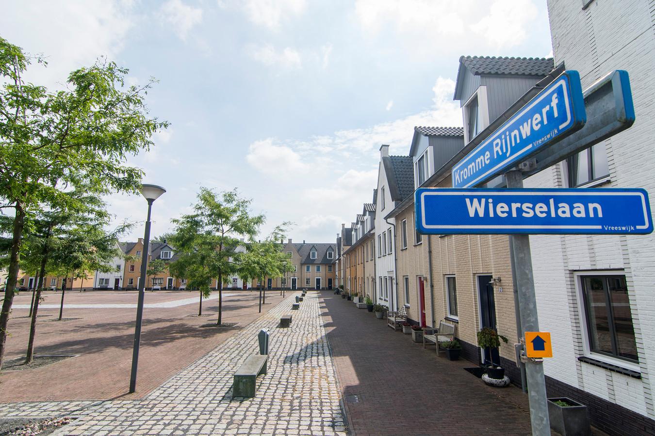 Een deel van De Wiers in Nieuwegein is al woongebied geworden, dat is de wijk Nieuw-Vreeswijk geworden