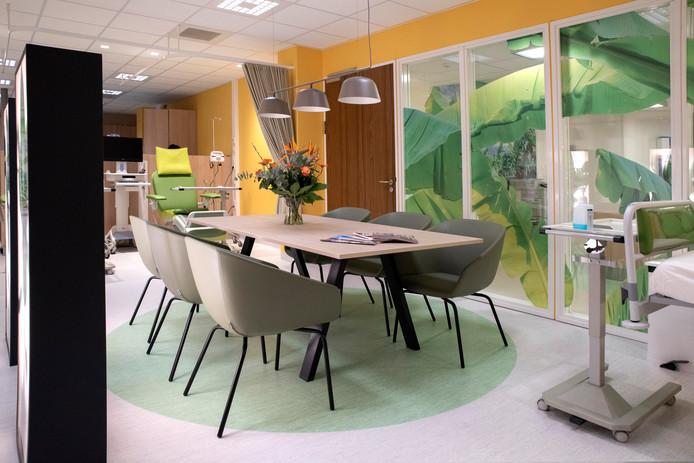 Het Maasstad hoopt dat patiënten zich meer op hun gemak voelen met een 'groene' inrichting.
