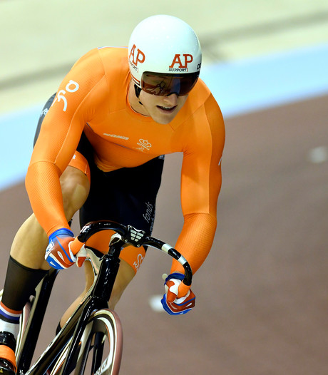 Hoogland grijpt naast Europese sprinttitel