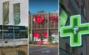 Het trio pleegde overvallen op een McDonald's, een apotheek en drie supermarkten van Carrefour.