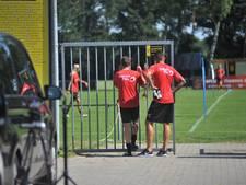 NEC-spelers gluren in Heelsum bij de Deense vrouwenploeg