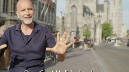 Nic Balthazar lokt de (Vlaamse) toeristen naar Gent met grappig filmpje