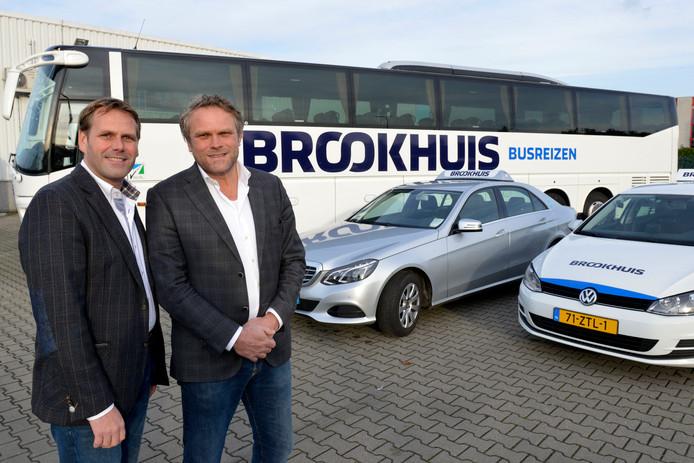Voor de werkgelegenheid bij hun bedrijf zijn Erwin en Ronald Brookhuis zeer content met het feit dat hun bedrijf het 'Vervoer op maat' in Enschede, Hengelo, Losser en Haaksbergen mag gaan verzorgen.