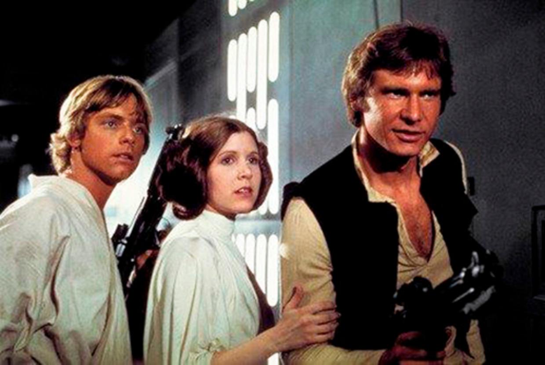 Still uit Star Wars: A New Hope Beeld AP