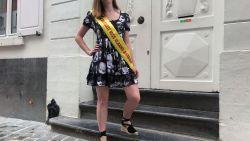 """Noortje (18) overwon coronavirus en wil nu Miss Vlaams-Brabant en Miss België worden: """"Nog snel moe, maar ik ga er voluit voor"""""""