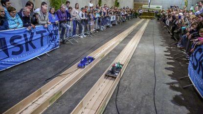 Boormachines en slijpschijven racen naar finish